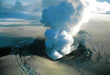 L'eruzione del vulcano islandese Bardarbunga