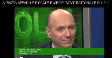 Salvatore Gaziano Ospite di SoldiTv 19 marzo 2016