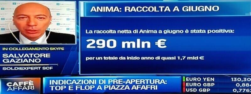 Su Anima Holding si gioca il risiko del risparmio gestito. Telecom Italia va giù.