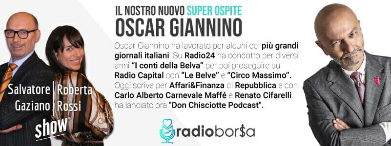 Oscar Giannino si confessa su RadioBorsa e spiega perche' la situazione e' grave e anche seria (podcast)