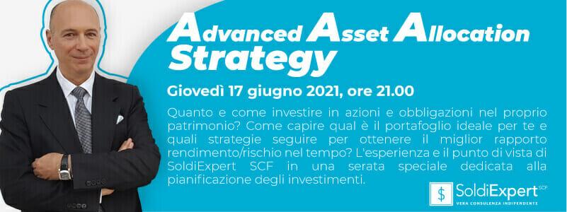 (Webinar) Asset Allocation, un evento per capire come e dove investire al meglio il proprio patrimonio