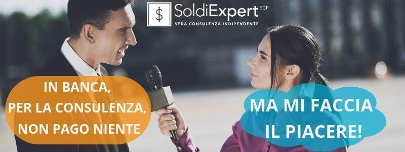 La consulenza finanziaria di banche e reti è gratis: ne è convinto 1 italiano su 2!