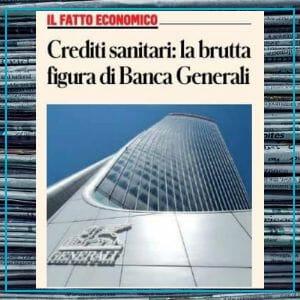 I crediti sanitari e la figuraccia da 80 mln di Banca Generali